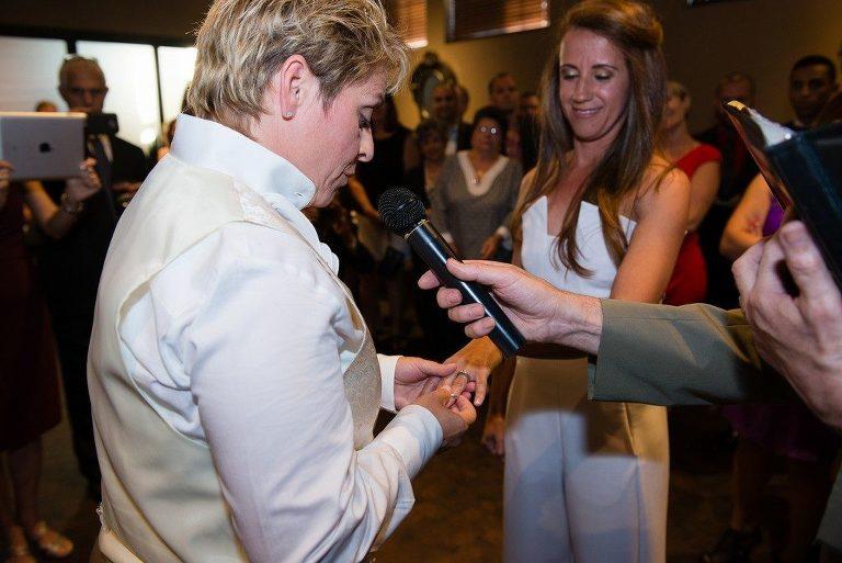 wedding ceremony in Burlington ma
