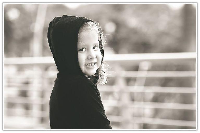 girl posing for photos
