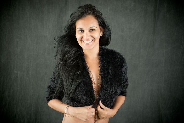 young woman beauty portrait