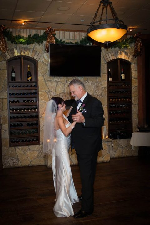 Wedding couple dancing in Salem NH