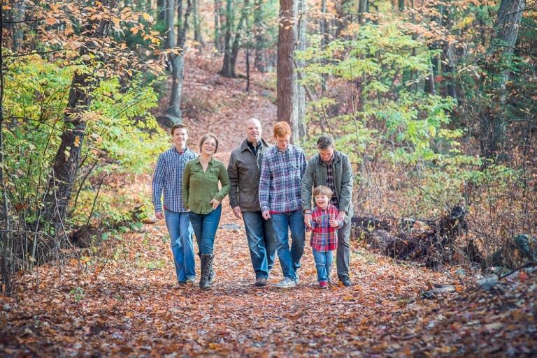 Big family united for family portrait