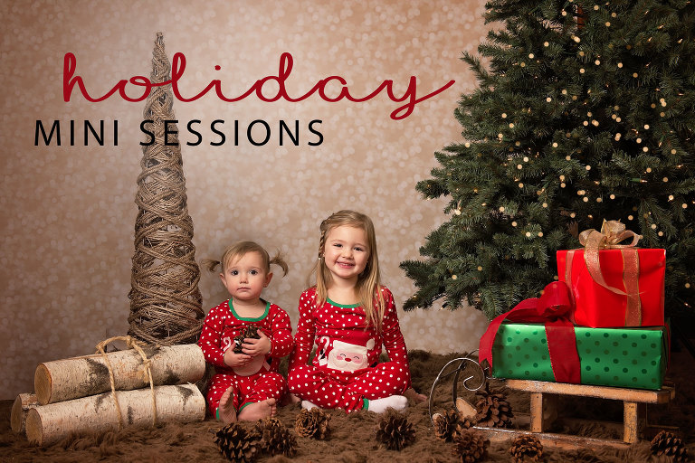 Holiday mini sessions